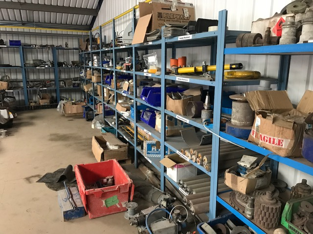 We also sell spare parts