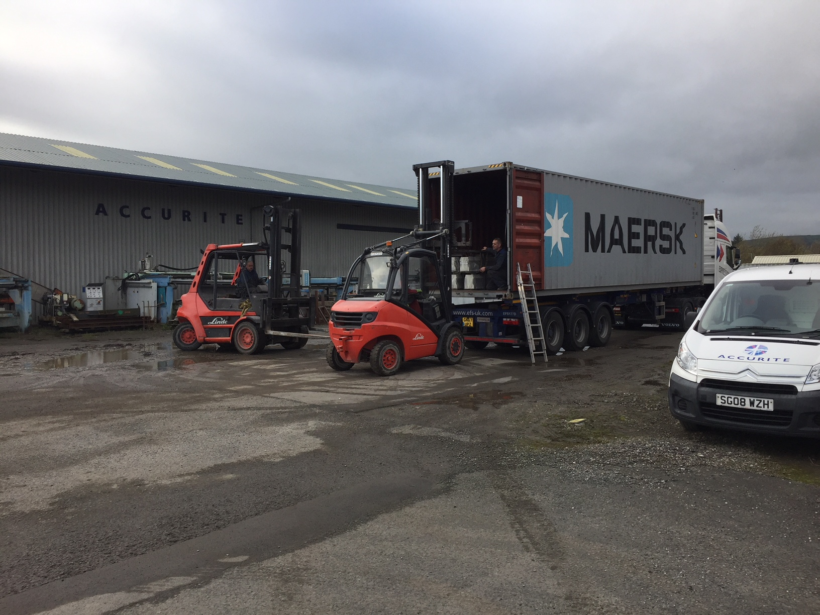 New Machine Delivery