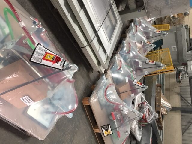 New delivery of Vacu-lifts